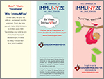 Don't Wait Vaccinate Brochure