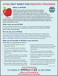 NYSIIS Pediatric Provider Fact Sheet